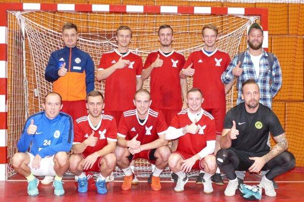 Víťazný tím - Borusia Bánovce.