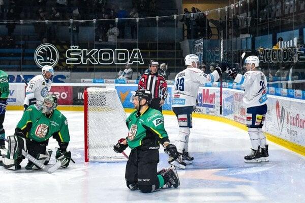 Nitra doma prehrala 2:3.