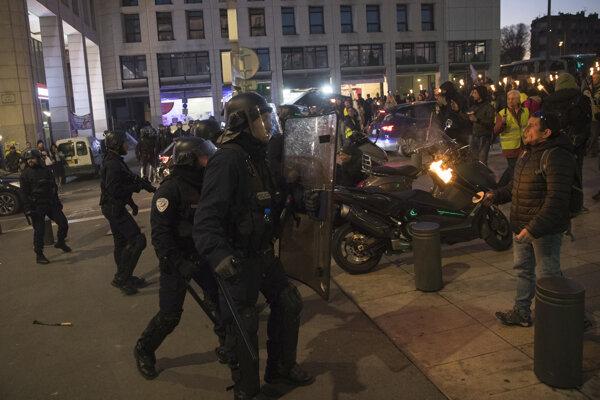 Štrajk vo Francúzsku.