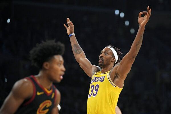Dwight Howard z LA Lakers.