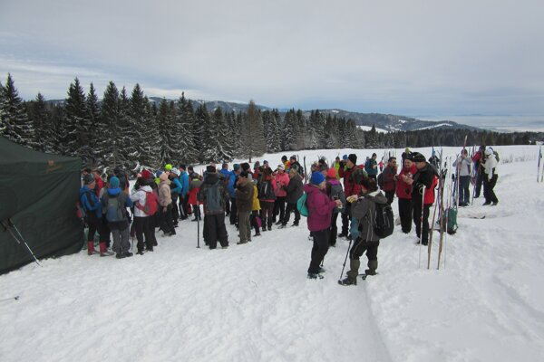 Do Lokce prišla takmer tisícka účastníkov.