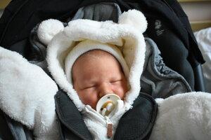 Filip Gallo (4140 g, 55 cm) sa narodil 3. januára Lucii a Martinovi z Bánoviec nad Bebravou.