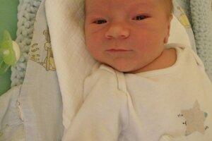 Filip Chleban (3920 g a 52 cm) sa narodil 2. decembra Petre a Lukášovi z Visolají.