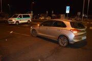 Nehoda na parkovisku na Tureckom rade v Leviciach.