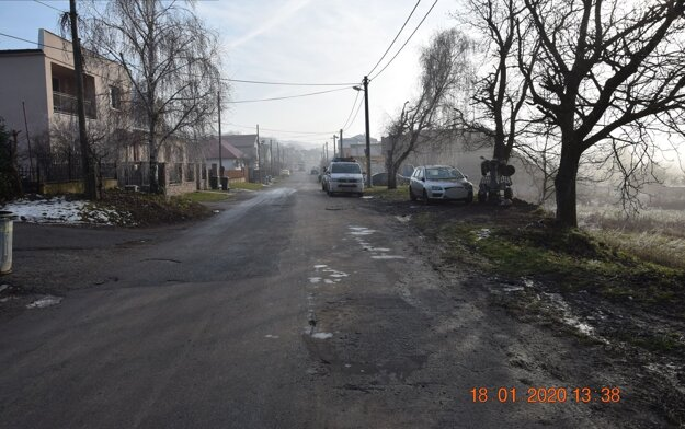 Dopravná nehoda v Sadoch nad Torysou.