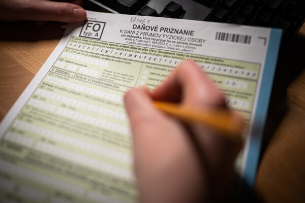 Daňové priznanie fyzických osôb typ A