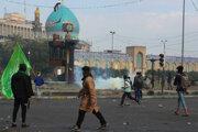 V Iraku pokračujú protesty.