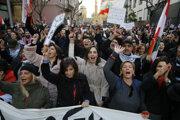 Demonštrácie v Libanone.