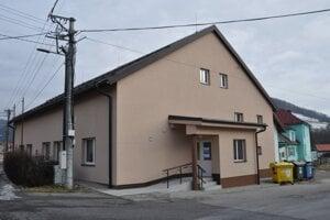 Zrekonštruovaný kultúrny dom.