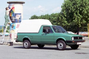 Volkswagen Caddy prvej generácie (1979-1995).