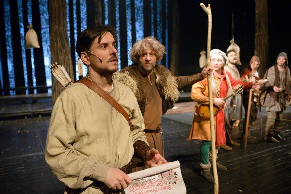 Peter Oszlík v hlavnej úlohe Robina deťom dokazuje, ako sa aj obyčajný človek môže stať hrdinom.