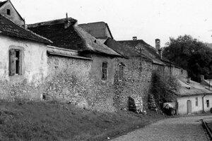 Katovná ulica v minulosti