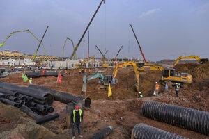 V roku 2003 vybudovala Čína novú nemocnicu na predmestí Pekingu za menej ako týždeň.