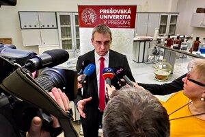 Jozef Féjer z Katedry ekológie Fakulty humanitných a prírodných vied Prešovskej univerzity v Prešove.