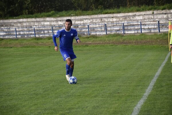 Tomáš Tlelka v drese FK Čadca.