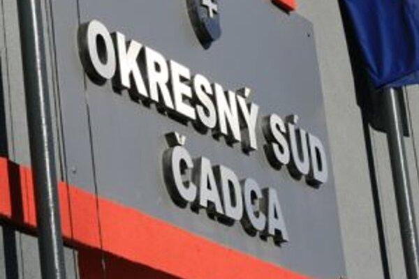 Verdikt padol na Okresnom súde v Čadci.
