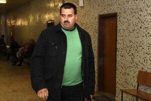 Branislav Paška na košickom súde v kauze bitky na Hlavnej ulici.
