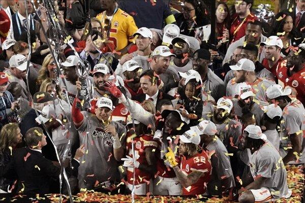 Kansas City Chiefs po Super Bowle LIV.