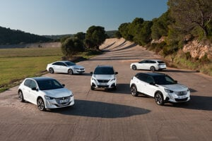 Elektrifikované modely značky Peugeot