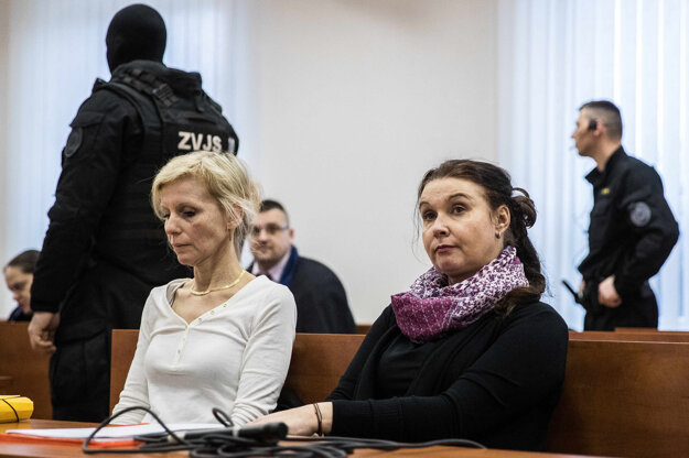 Znalkyne Michaela Rendeková (vpravo) a  Oľga Petrusová (vľavo).