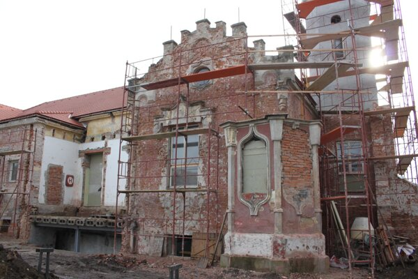 Rekonštrukcia Sokolovne.
