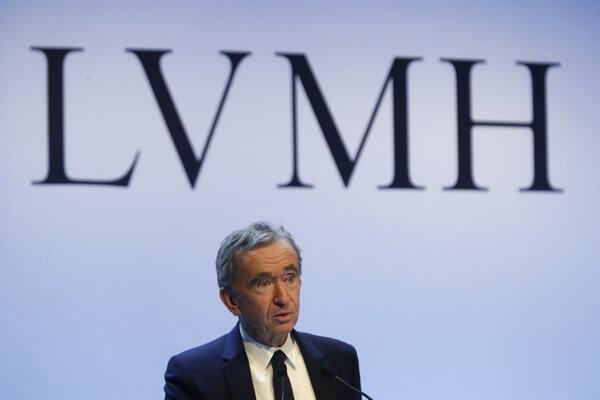 Bernard Arnault, hlavný výkonný riaditeľ spoločnosti LVMH.