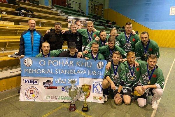 Majstrovské mužstvo HBC Skalité.