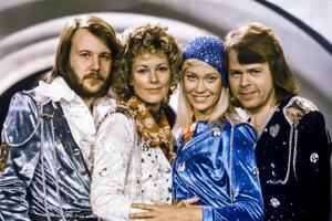 Švédska skupina ABBA - archívna fotografia.