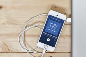 Podcast Dobré ráno na Spotify.