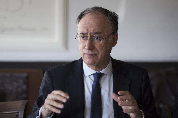 Riaditeľ OPCW Fernando Arias.