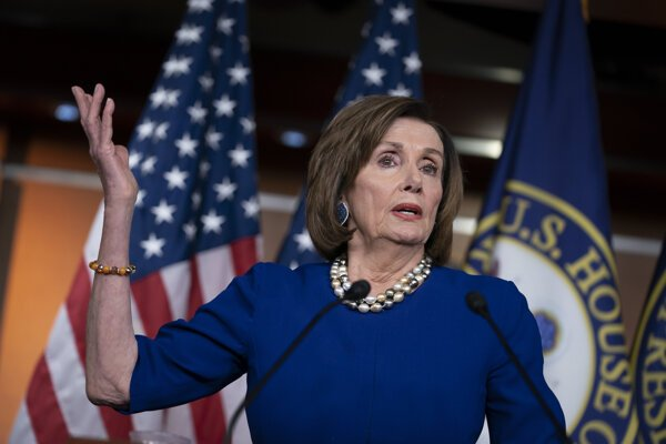 Nancy Pelosiová zopakovala, že sa intenzívne modlí za amerického prezidenta Donalda Trumpa.