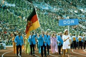 Slávnostné otvorenie olympijských hier v Mníchove v roku 1972.