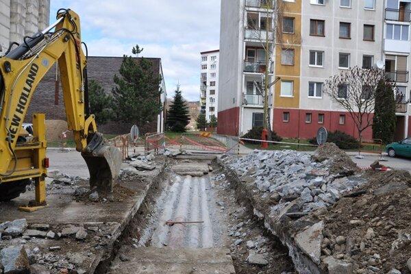 Opravy sú pre staré potrubia časté.