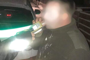 Jeden z opitých vodičov, ktorého polícia zastavila v Zákamennom.