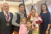 Vítanie novorodencov vo Vasiľove.