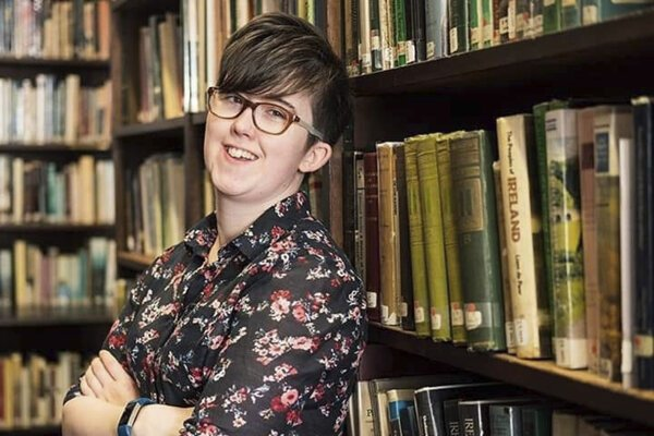Novinárka Lyra McKeeová, ktorá zomrela 18. apríla 2019 počas streľby v severoírskom meste Londonderry.