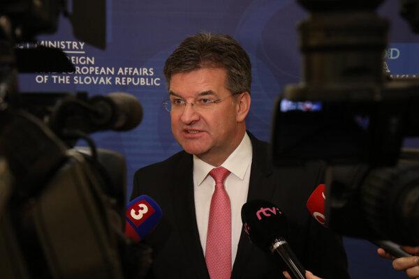 Minister zahraničia Miroslav Lajčák.
