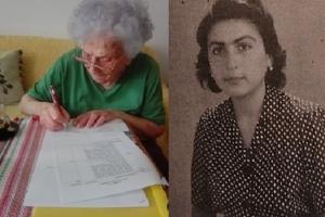 Konrnélia Wirtschafterová sa narodila v roku 1926 a žije v Rimavskej Sobote. Na foto tesne po vojne.