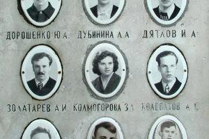 Fotky na cintoríne.