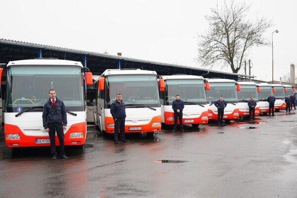 Nové autobusy sú typu SOR.