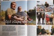Článok v časopise Slovenský rybár nebol označený ako platená reklama.