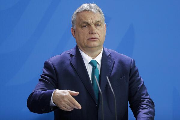 Predseda maďarskej vlády Viktor Orbán.