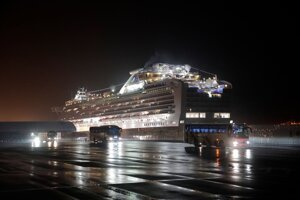 USA evakuovali svojich občanov z výletnej lode Diamond Princess.