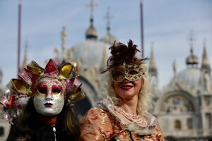 Benátsky karneval.