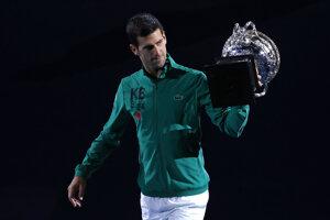 Líder rebríčka ATP Novak Djokovič.