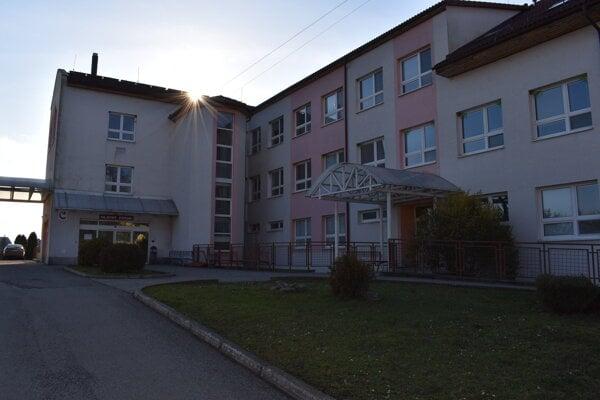 Regionálna nemocnica v Sobranciach.