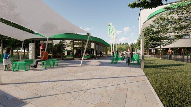 Areál Centra cirkulárnej ekonomiky bude prispôsobený návštevám verejnosti