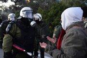 Gréci odmietajú nové tábory.