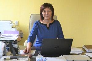 Starostka Rimavskej Bane Elena Polóniová.
