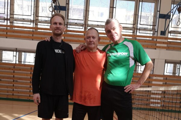 Víťaz 20.ročníka (zľava): Matej Krajčí, Pavol Kovasich, Ivan Lukáč